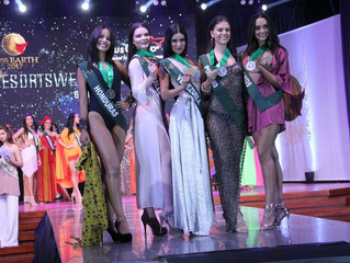 Miss Earth #Wales WINS a second Bronze Medal Award in Resort Wear at Miss Earth 2017.
