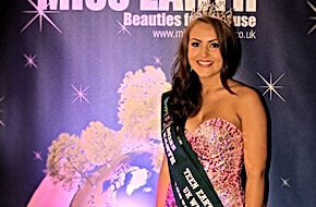 Amy Nuttall Miss Teen Earth UK 2012