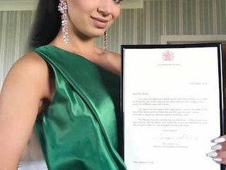 Stephanie receives a letter from Her Majesty The Queen