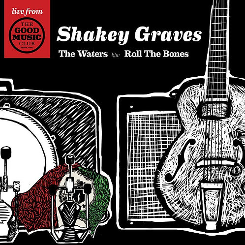 "SHAKEY GRAVES live at The Good Music Club 7"" vinyl"