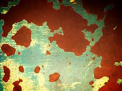 distressed tabletop