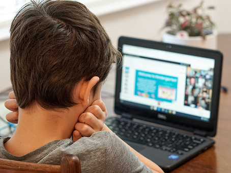 Picking up my Child from Online School?