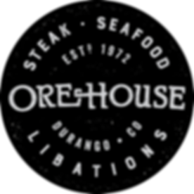 Ore House logo black badge.png
