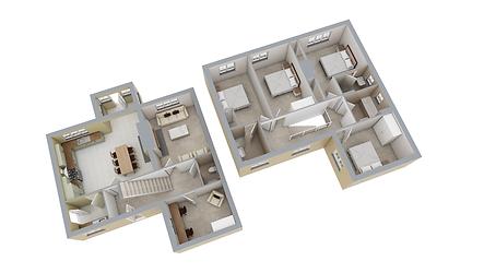 3D marketing floorplan