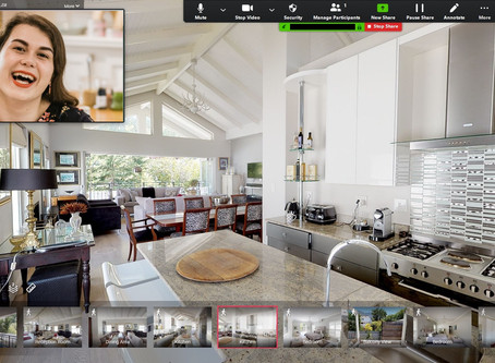 LIMIT PHYSICAL INTERACTIONS WITH THE USE OF PERSONALIZED VIRTUAL TOURS FOR VIEWINGS