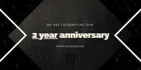Sampo Accelerator turns 2 !