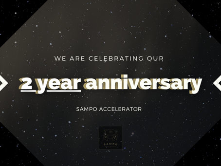 Sampo Accelerator turns 2 !
