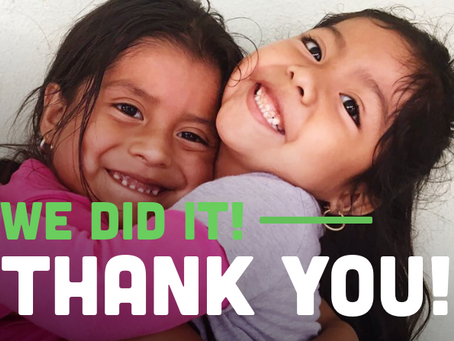 [YOU DID IT] We Can't Thank You Enough
