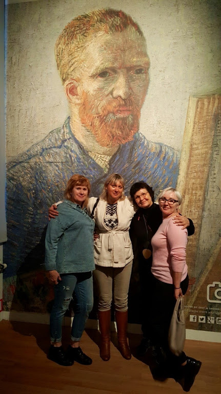 Светлана Выгон музей Ван Гога