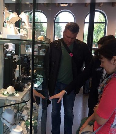 магазин бриллиантов в Амстердаме