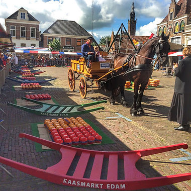 Сырная ярмарка в Эдаме
