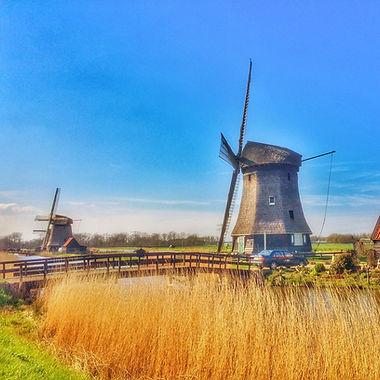 Мельницы Голландия