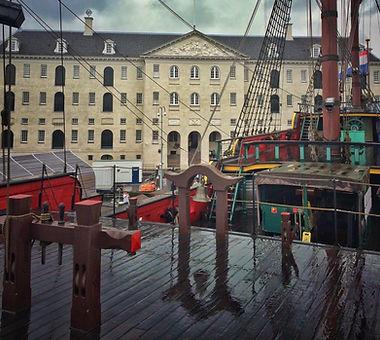 музей Мореплавания в Амстердаме