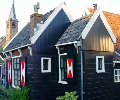 Игрушечные жилые домики Волендама