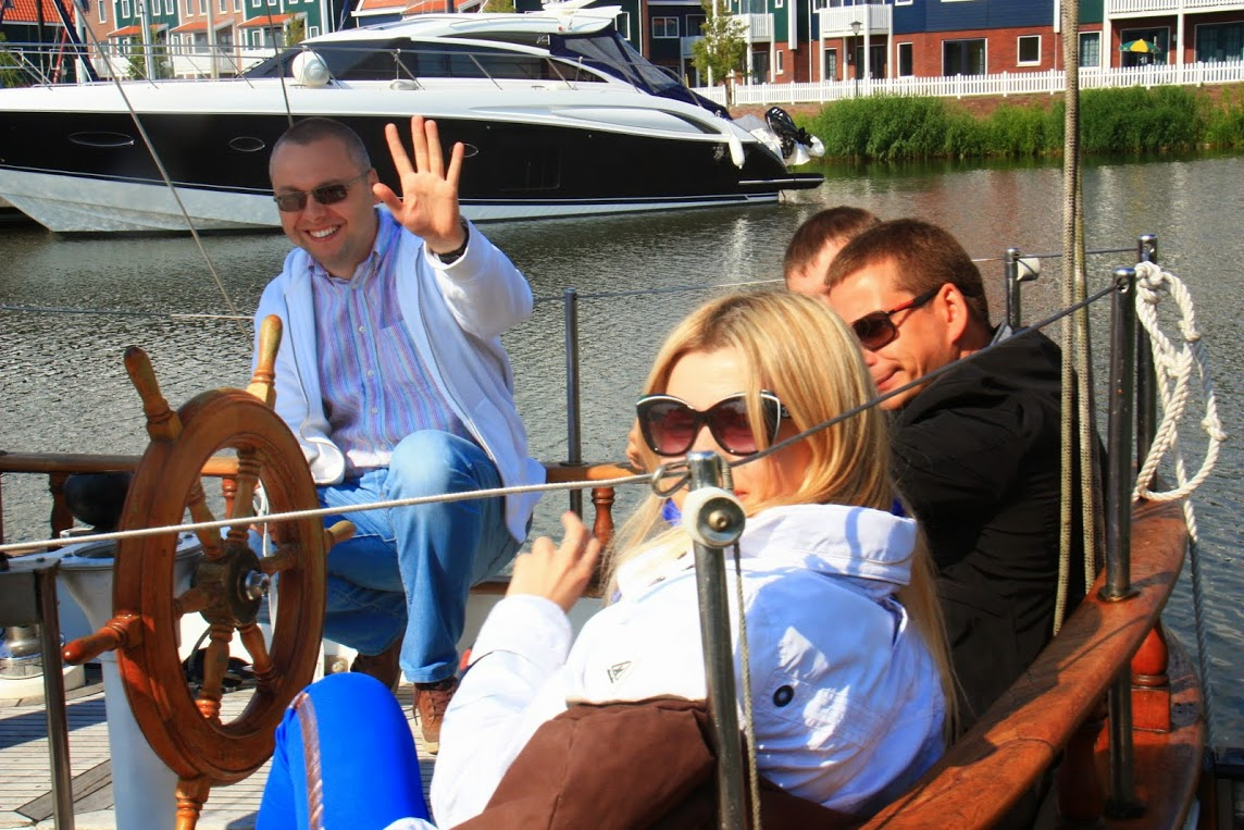 Прогулка на яхте под Амстердамом