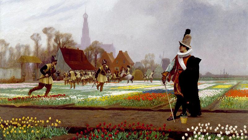 история тюльпанов