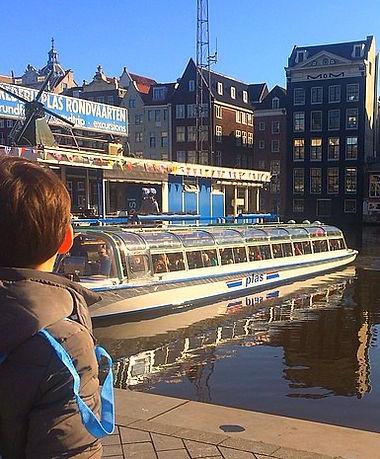 Детская экскурсия по Амстердаму