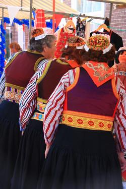 народные костюмы острова Маркен