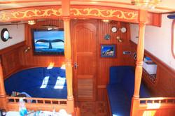 Каюта яхты