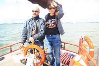 экскурсия на яхте в Голландии