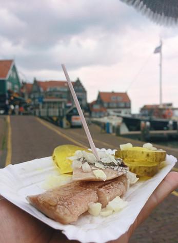 Голландская седедка в Амстердаме