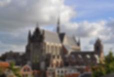 город Лейден в Голландии