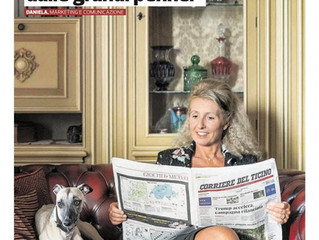 Millriver's Duchessa ❤️ in der Corriere del Ticino