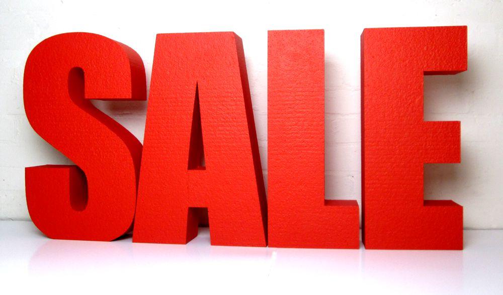 Sale из пенопласта