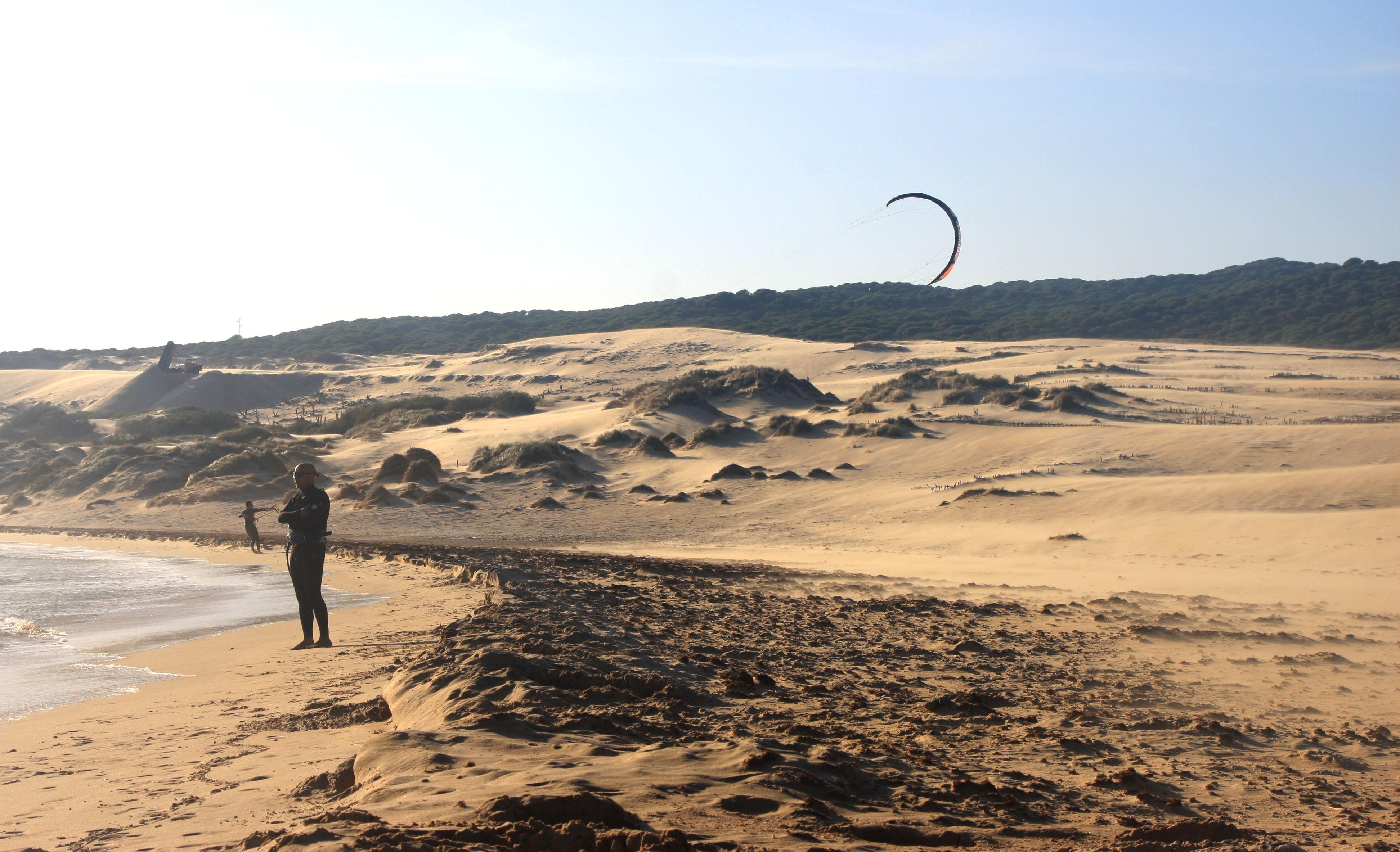 Дюны пляжа Punta Paloma в Тарифе