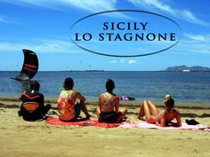 Сицилия, кайт кемп в Lo Stagnonе