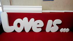 Любовь из пенопласта