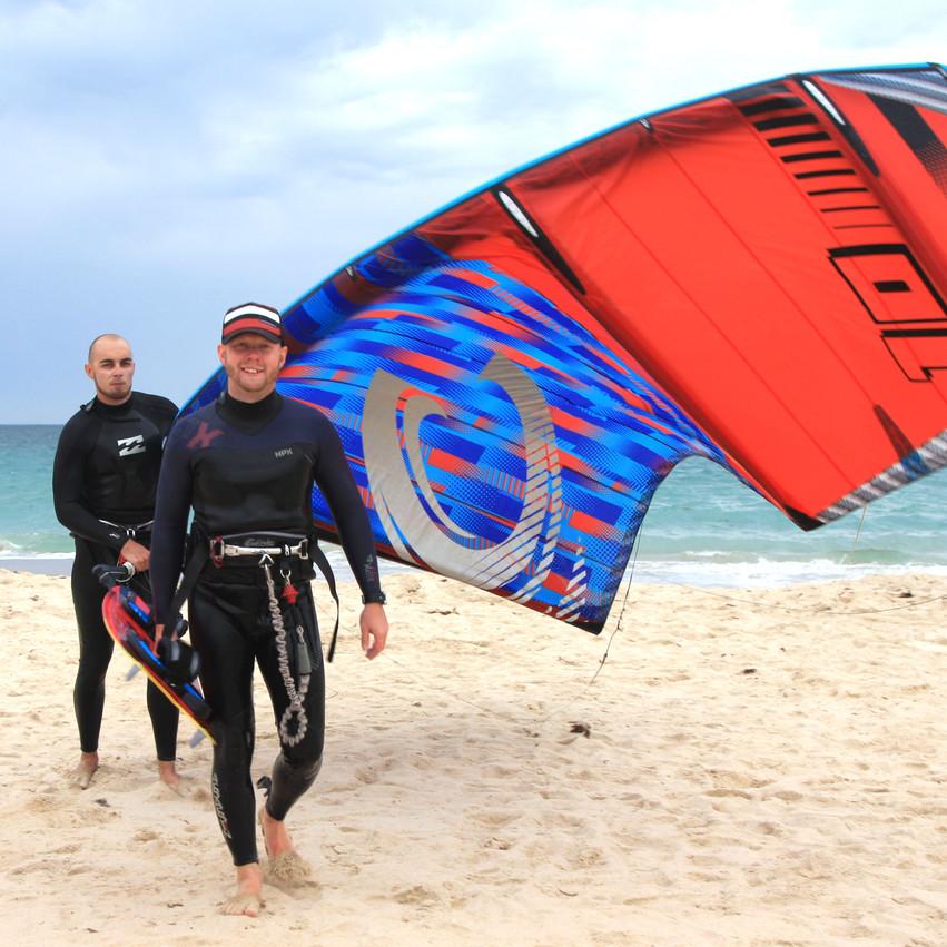Уроки кайтинга на пляже Punta Paloma