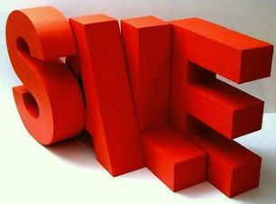 закаазть объемные буквы из пеопласта