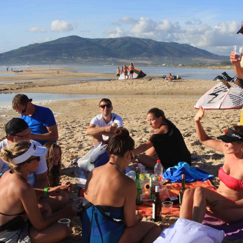 Пикник на пляже! Тарифа, Los Lanches