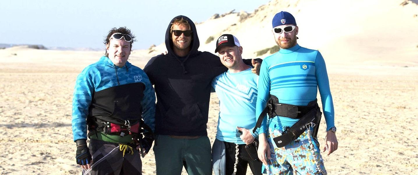 Кайткэмп в Марокко с Nick Jackobsen