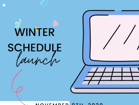 Winter Schedule Launch