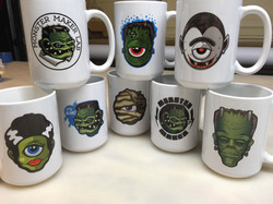 Dye sublimated mugs