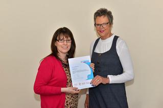 Jennifer North receives Level 4 Internal Quality Assurance