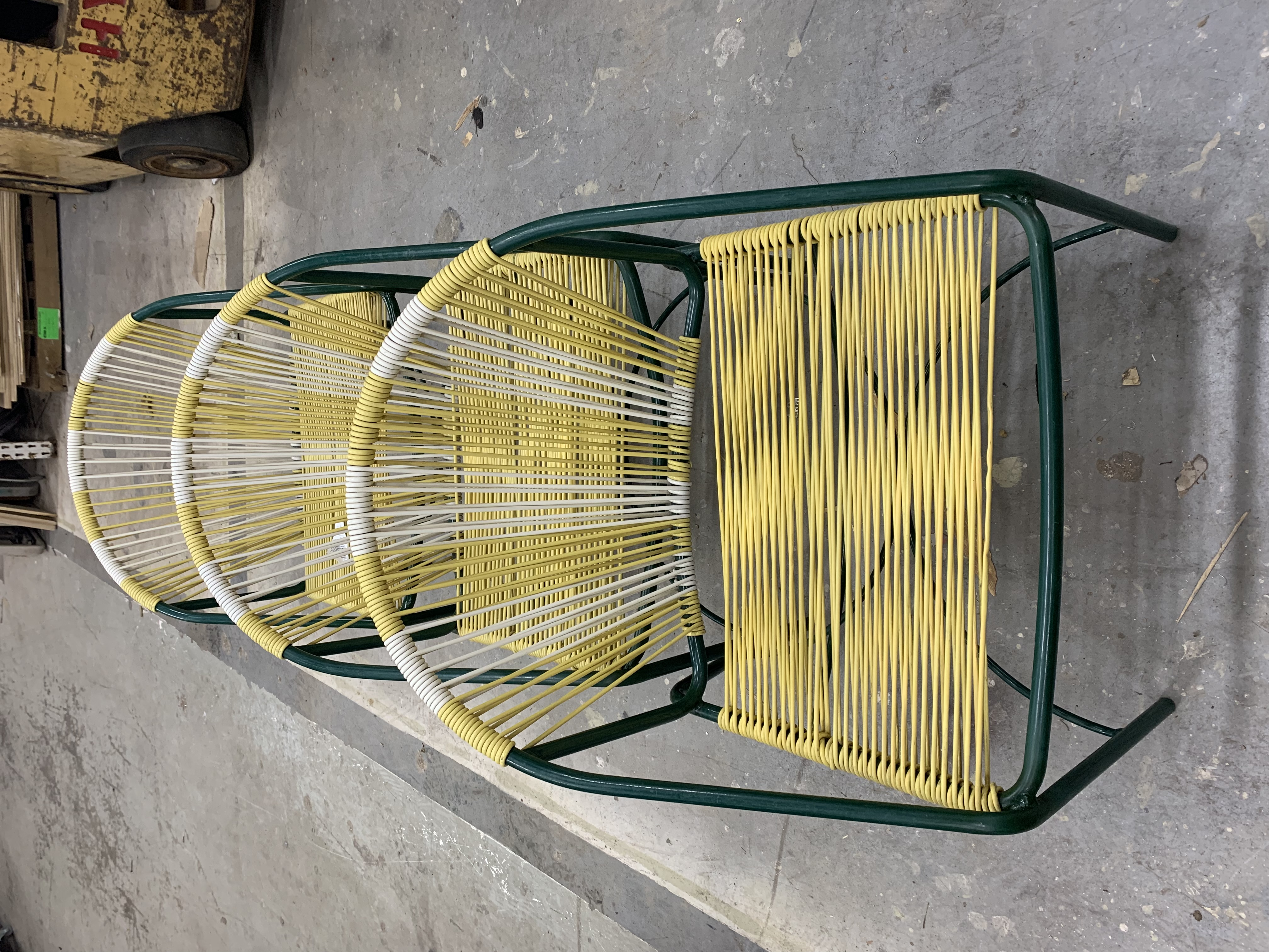 Restringing Rope Chairs