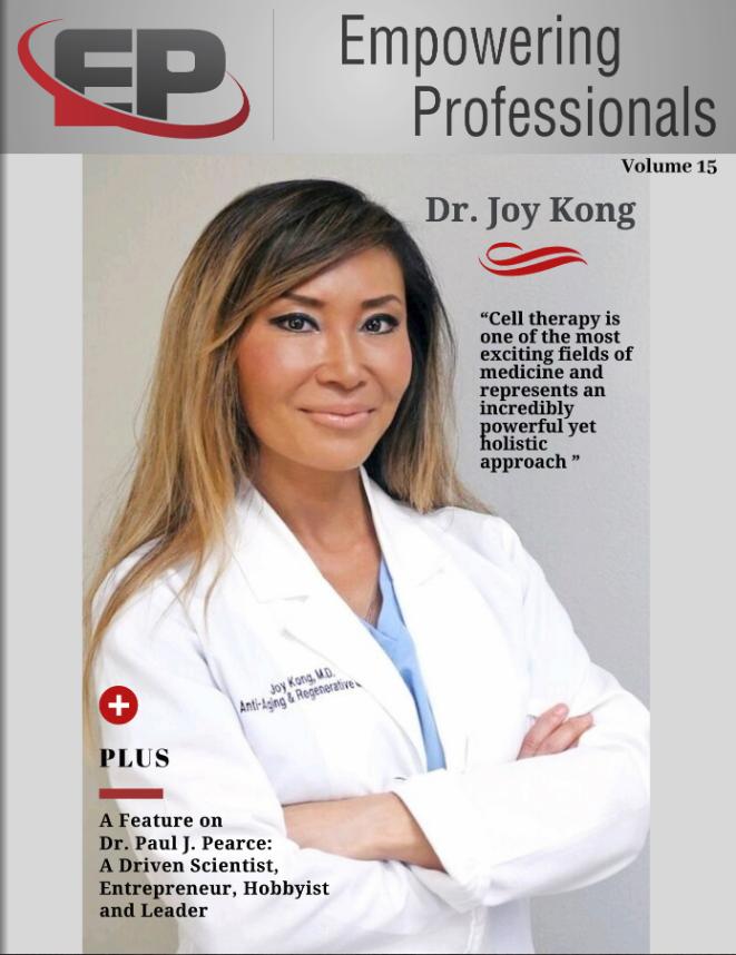 Dr. Joy Kong Cover