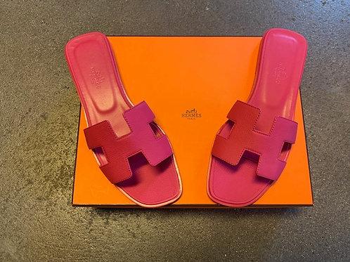 Sandalen Hermés Pink Gr. 37
