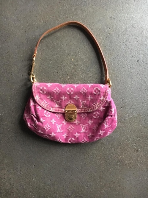 Tasche Louis Vuitton Stoff pink