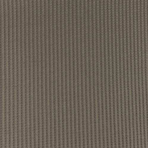 Waffeljersey uni grau 0,5m