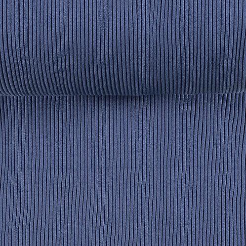 Bündchen gerippt indigoblau