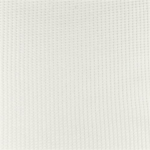 Waffeljersey uni off weiß 0,5m