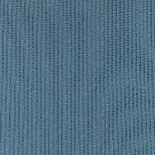 Waffeljersey uni jeans 0,5m