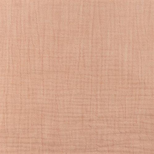 Musselin meliert rosa 0,5m