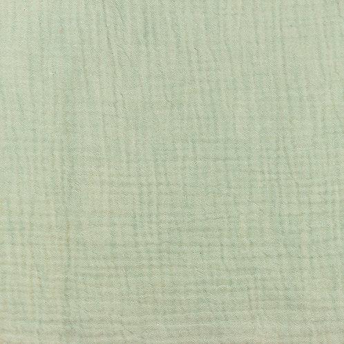 Musselin meliert altgrün 0,5m