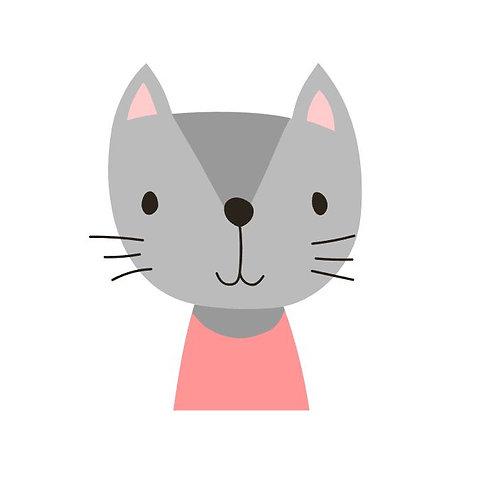Plotterdatei Kätzchen