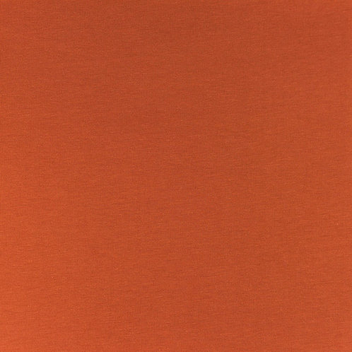 Jersey uni rost/ziegelrot 0,5m